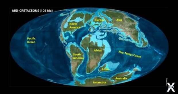 Материки Гиперборея и Арктида: геологические и птичьи гипотезы...