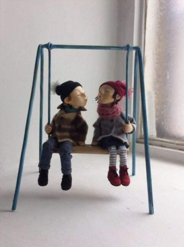 Где куклы так похожи на людей! (34 фото)