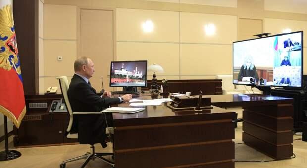 Путин: нам нужен профессиональный прогноз по распространению коронавируса