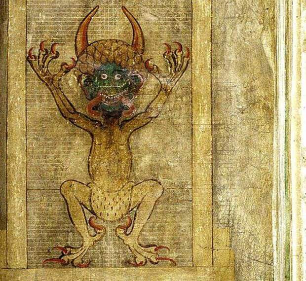 Кодекс Гигас - предсказания Дьявола