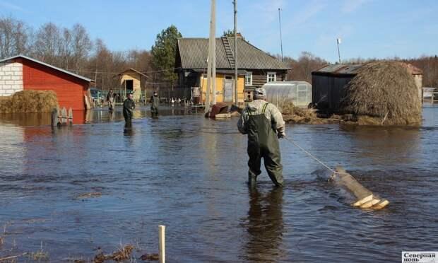 Ледоход-2021: Вологодскую область затопило, для Архангельской— благоприятный прогноз