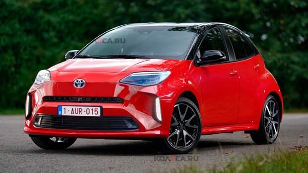 Toyota готовит Aygo нового поколения: первое изображение