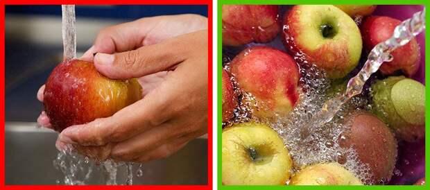 9 продуктов, которые мы всегда мыли неправильно