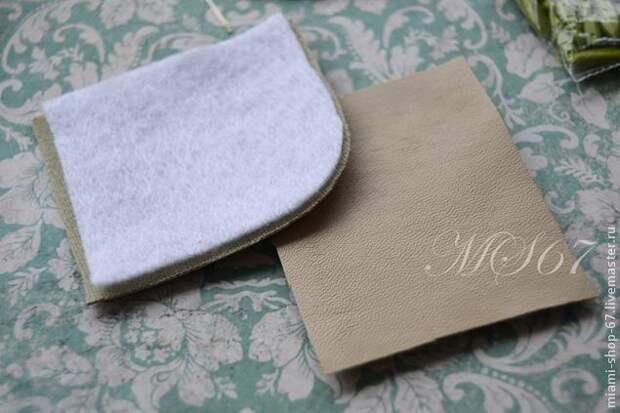 Красивая вышивка бисером края изделия 2