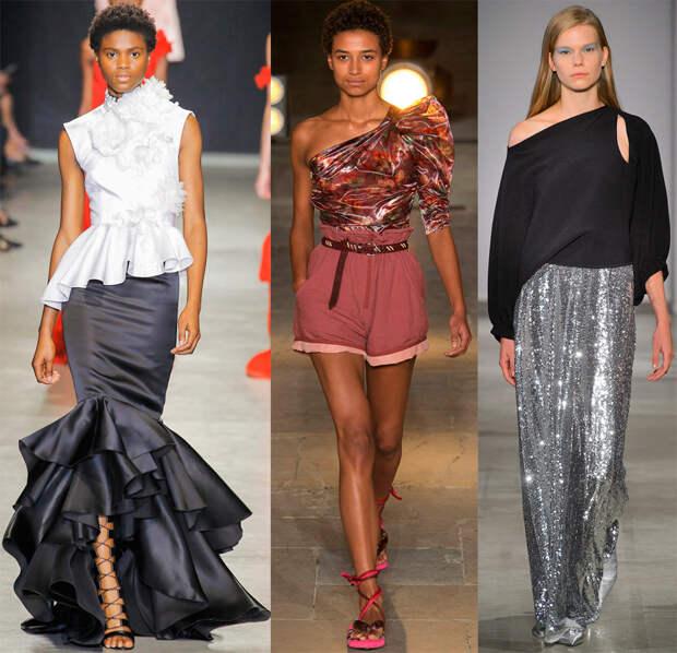 Ассиметричные блузки