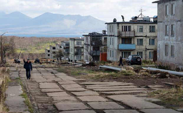 Остров Итуруп в Сахалинской области