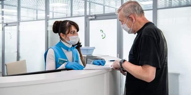 Анкету для диспансеризации в павильоне «Здоровая Москва» в сквере по Олонецкому можно будет подготовить онлайн