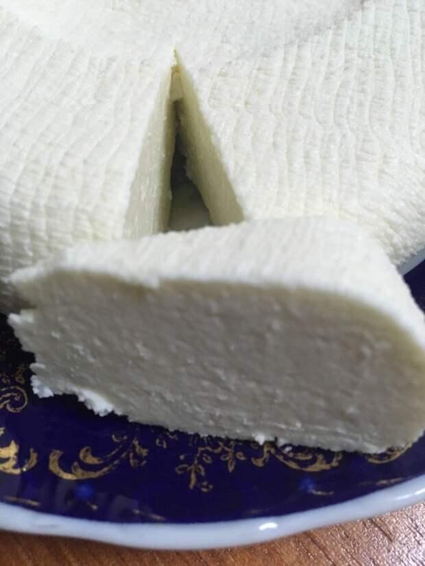 "Домашний сыр типа ""Адыгейского"". Рецепт, Сыр, Кулинария"