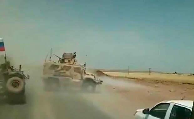 Американские военные попытались задержать российский патруль, но потерпели фиаско