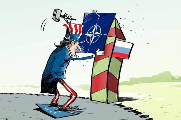 Россия нагло приблизилось к границам НАТО