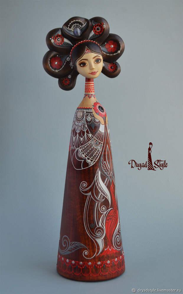 Портретная кукла.Ювелирная работа. Красивая кукла.Илама, Куклы, Сумы, Фото №1