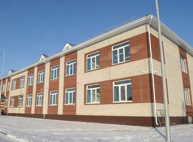 В Удмуртии завершили строительство новой школы в селе Большое Волково
