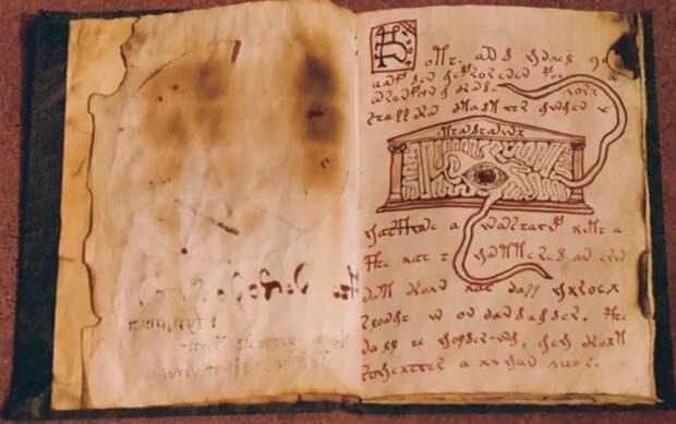 Древние Гримуары. Читая такую книгу можно лишиться рассудка