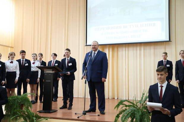 Олег Мельниченко обещал поддержать проект пензенских школьников