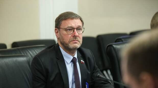 Косачев: Договор по открытому небу разрушается США при пассивной позиции НАТО