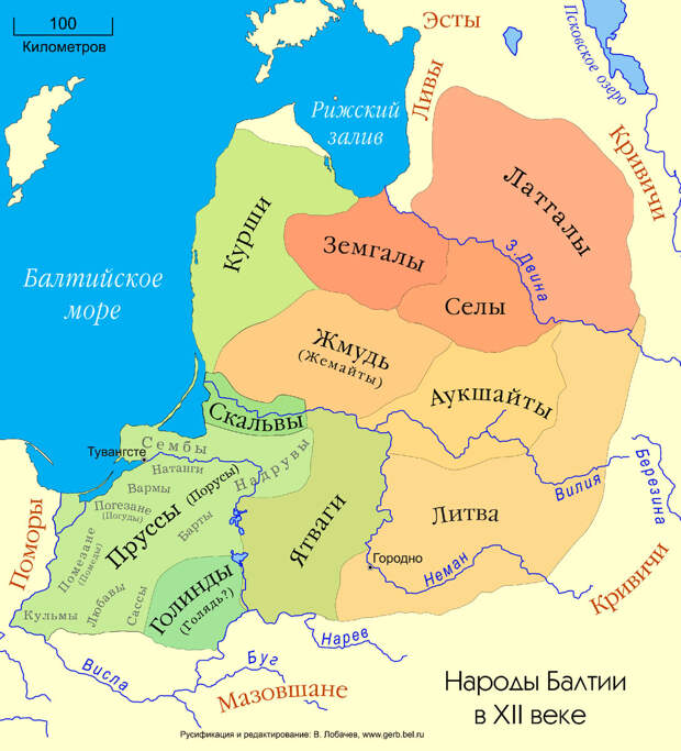 Как Курляндия и Лифляндия стали Эстонией, Латвией и Литвой, а чухонцы вдруг сделались европейцами...