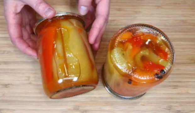 Болгарский перец как свежий. Стоит всю зиму без сложной стерилизации: простой рецепт