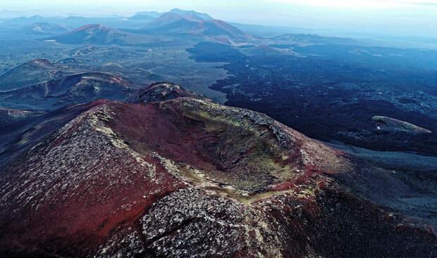 Лавовые поля вулкана Плоский Толбачик