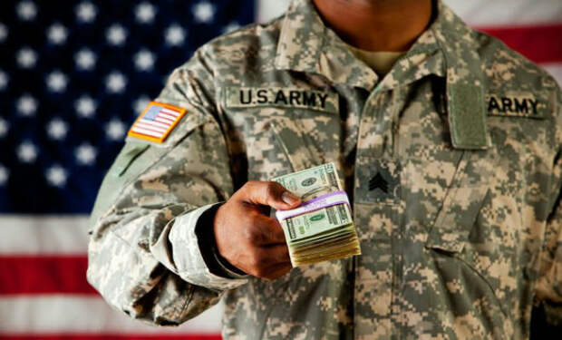 Зарплаты в армии США