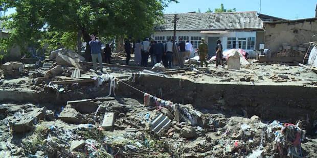 Сель в Кулябе: в Таджикистане ликвидируют последствия стихии