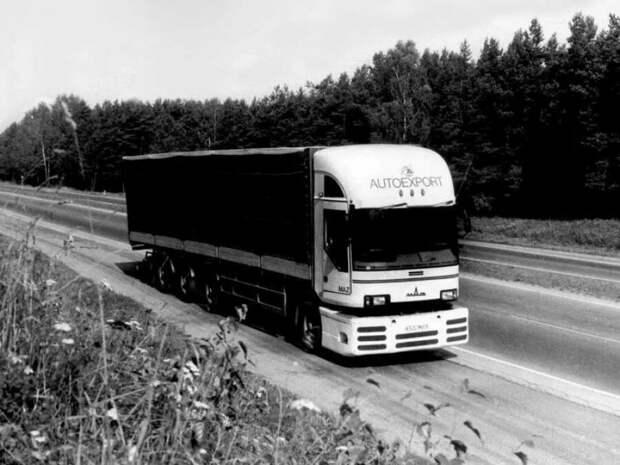 Уникальный грузовик СССР, который существенно опередил своё время, МАЗ 2000