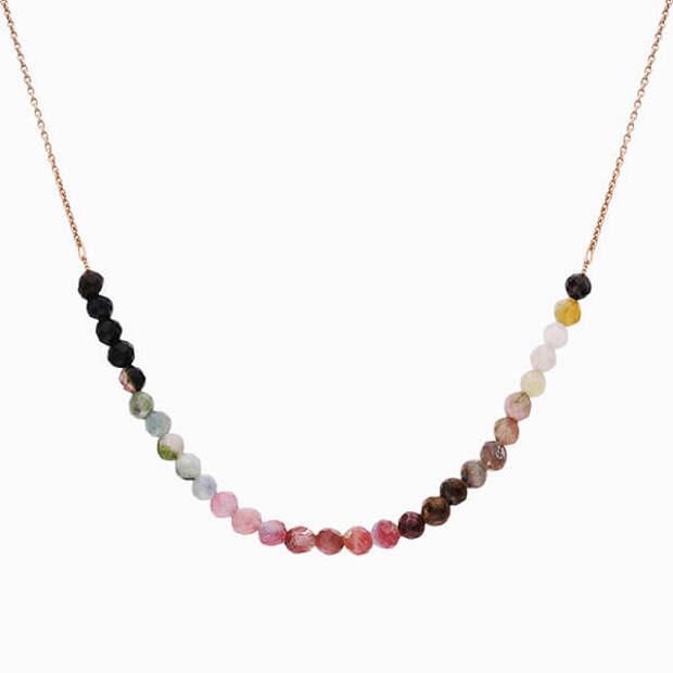 Цветные бусы с камнями, которые принесут вам удачу