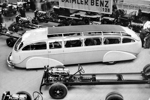 Mercedes-Benz Lo 3100 Stromlinien-Omnibus автобус, автодизайн, дизайн