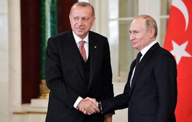 Эрдоган понял, что Путин – человек слова, сразу после знакомства с ним