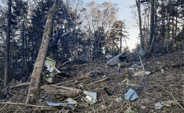 Обследование места крушения Ан–26 возобновили
