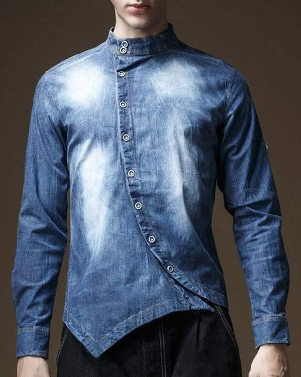 Большая подборка блуз и рубашек с косой застёжкой или декором