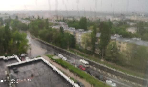 Жару в28 градусов вБелгородской области дополнят дожди исильный ветер