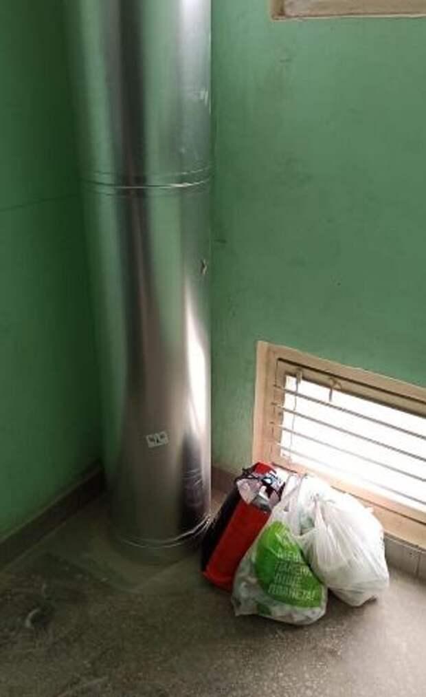В некоторых домах в Лианозове заменят стволы мусоропроводов