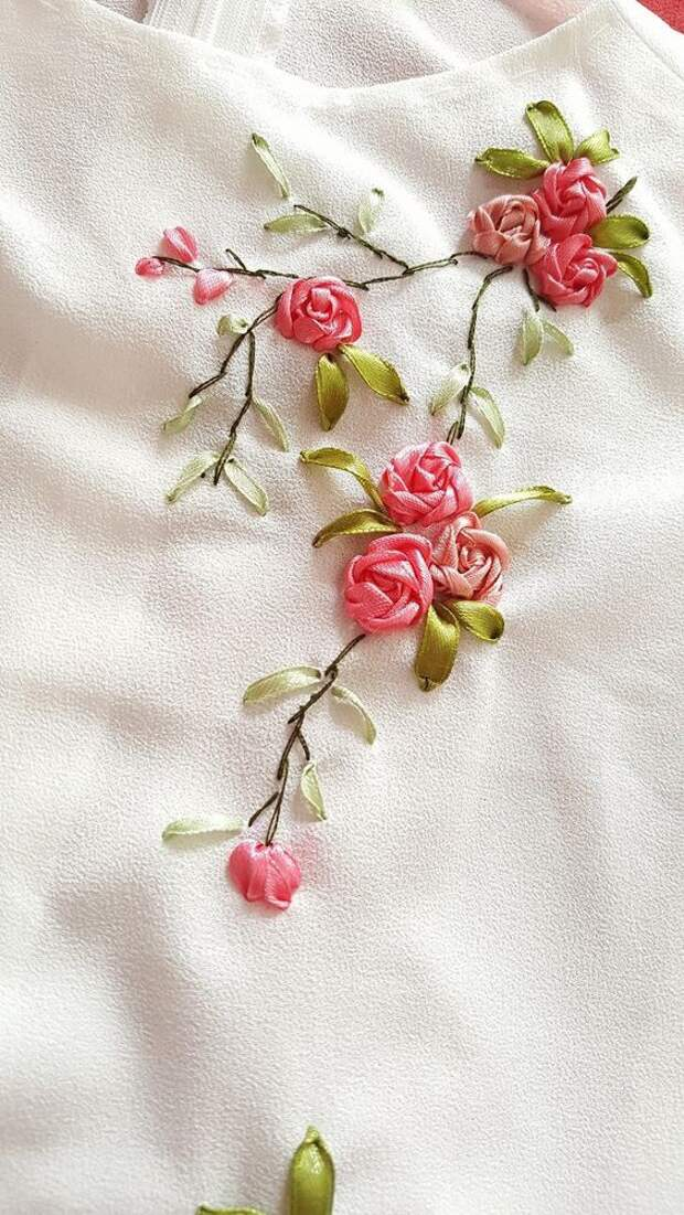 Шелковые цветы (подборка)