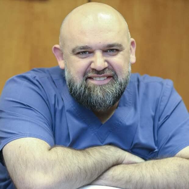 Главврач Коммунарки приехал в Дагестан для помощи в борьбе с коронавирусом