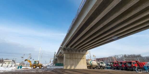 На Ленинградском шоссе построят путепровод