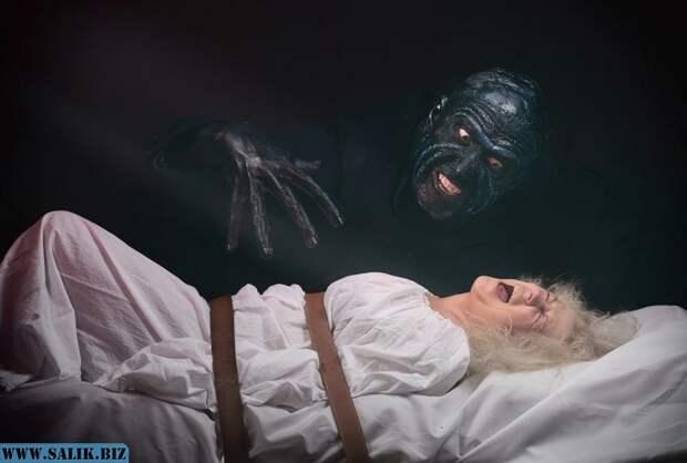 Феномен сонного паралича, когда кошмар - реальность