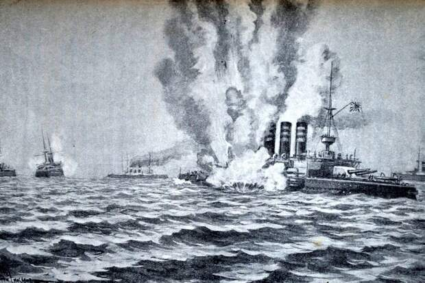 """Как минный заградитель """"Амур"""" потопил два японских броненосца"""
