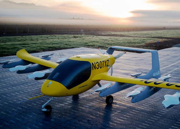 Электрическое аэротакси Cora пройдет испытания перевозкой пассажиров