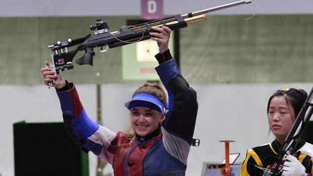 Первая медаль России наОлимпиаде вТокио: уГалашиной серебро встрельбе