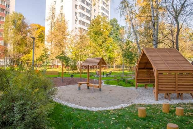 Собянин рассказал о первых дворах, созданных вместе с горожанами