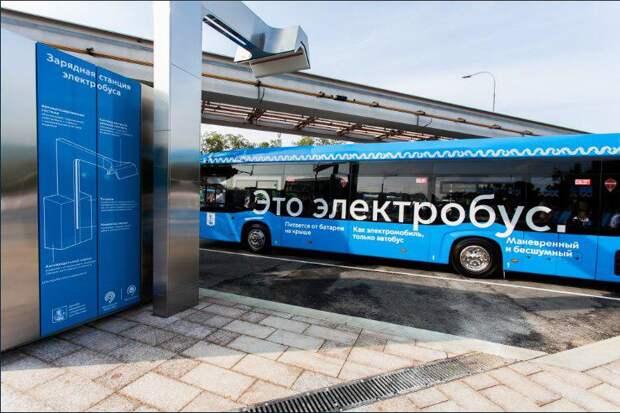 Восемь электробусов начали курсировать по Алтуфьевскому шоссе