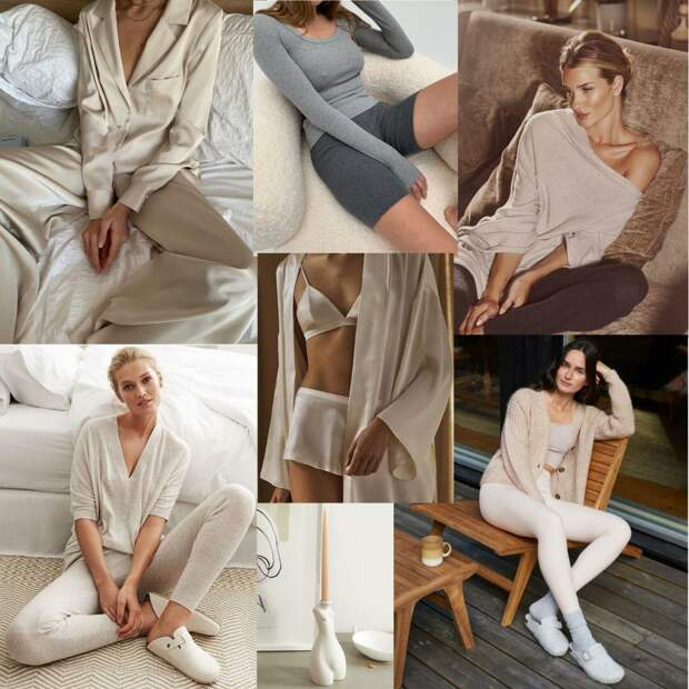 Стильная одежда для дома: подборка мягких и уютных комплектов
