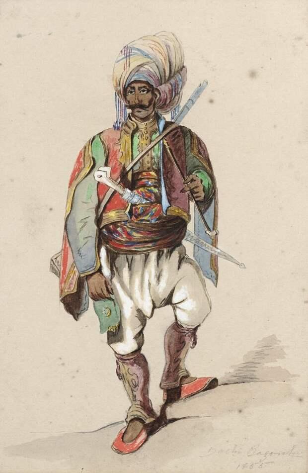 """Башибузуки """"действовали молодцами"""": сравнение их боевых качеств с горцами Кавказа"""
