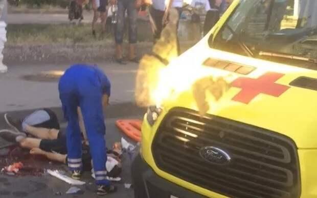 Смертельная трагедия в Севастополе: маршрутка раздавила подростка (ФОТО)