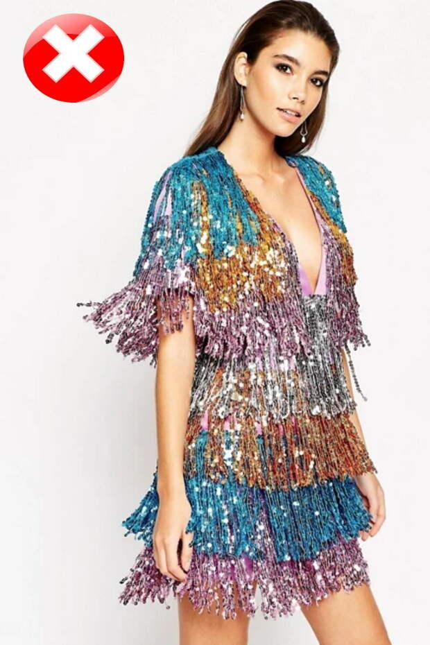Fashion-образ для Новогодней ночи 2021 БЕЗ компромиссов. Что такое ПРАВИЛЬНЫЕ паетки?