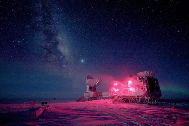 Как тает красота: исчезающие пейзажи Антарктиды