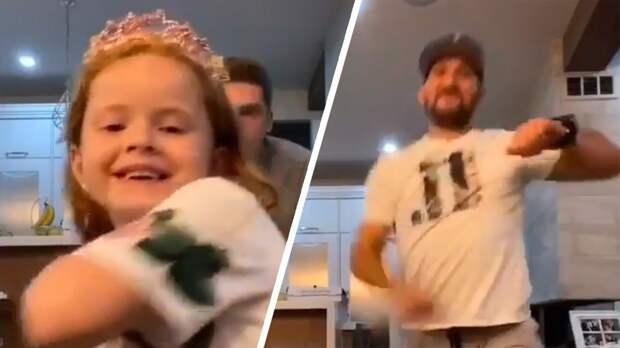 Овечкин снялся в танцевальном клипе для тиктока дочери Кузнецова: видео