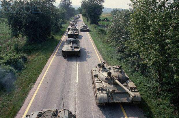 Бронетехника Югославии. Часть 5. Войны на развалинах: Словения и Хорватия