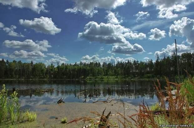 Следы метеоритов в российских озерах