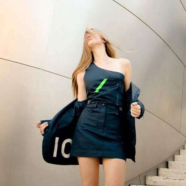Дочь Антонио Бандераса и Мелани Гриффит в новой съемке эко-коллекции одежды